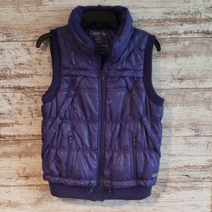 Calvin Klein Performance Vest Size Medium Purple!